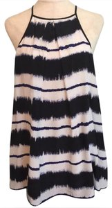 Derek Lam Top White, Dark Blue and Black