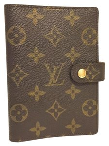 Louis Vuitton K287 Excellent Condition Diary Cover Agenda PM Browns Monogram