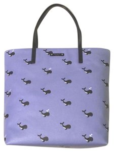 Kate Spade Tote in off we go whale