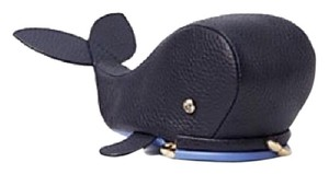 Kate Spade NWT New Kate Spade Kisslock Navy Blue Leather Whale Coin Purse