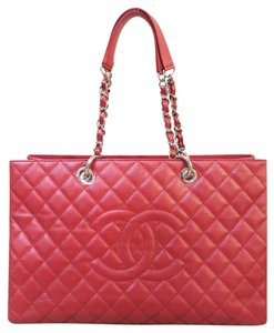 Chanel Caviar Xl Gst Shoulder Bag