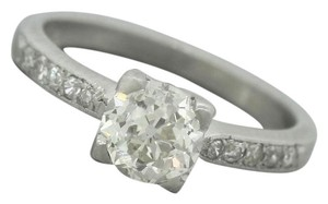 Other Antique Art Deco 1.30ctw Old European Diamond Platinum Engagment Ring