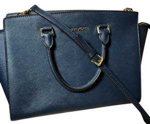 Michael Kors Satchel in Dark Blue