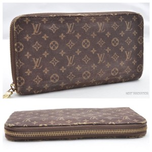 Louis Vuitton Louis Vuitton Mini Lin Zipper wallet