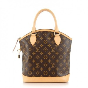 Louis Vuitton Lockit Lv Great Condition Satchel in Monogram