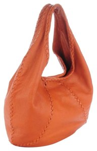 Bottega Veneta Leather Intrecciato-trimmed Cervo Hobo Bag