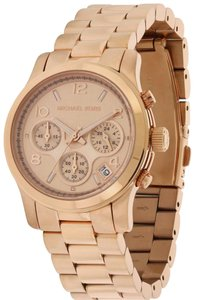 Michael Kors Michael Kors Rose Gold Stainless Steel Ladies Watch MK5128