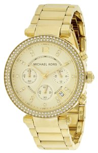 Michael Kors Michael Kors Crystal Chronograph Ladies Watch MK5354