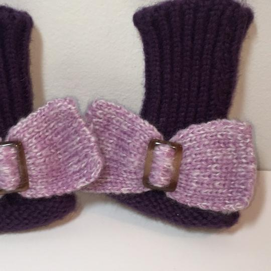 Other HAND KNIT GLOVES WITH BOW Image 2