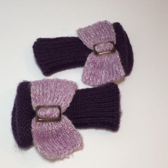 Other HAND KNIT GLOVES WITH BOW Image 4