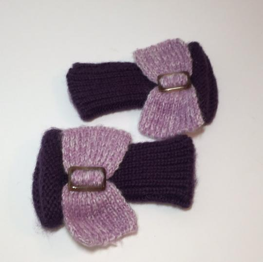 Other HAND KNIT GLOVES WITH BOW Image 5