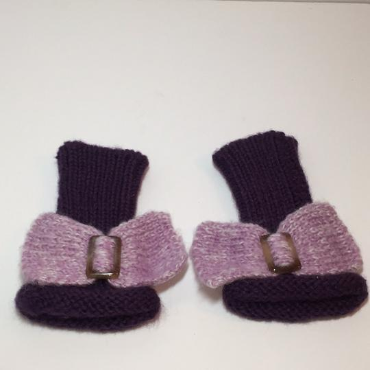 Other HAND KNIT GLOVES WITH BOW Image 6