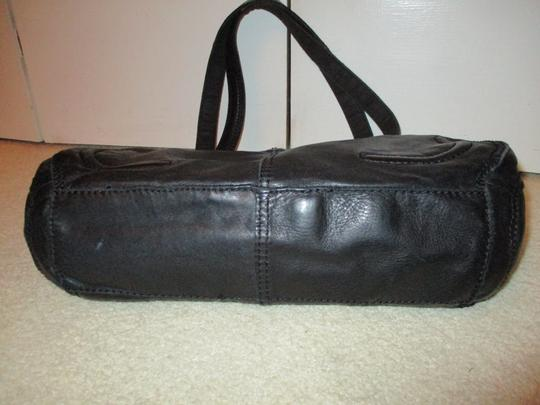 Lucky Brand Leather Satchel in black Image 8