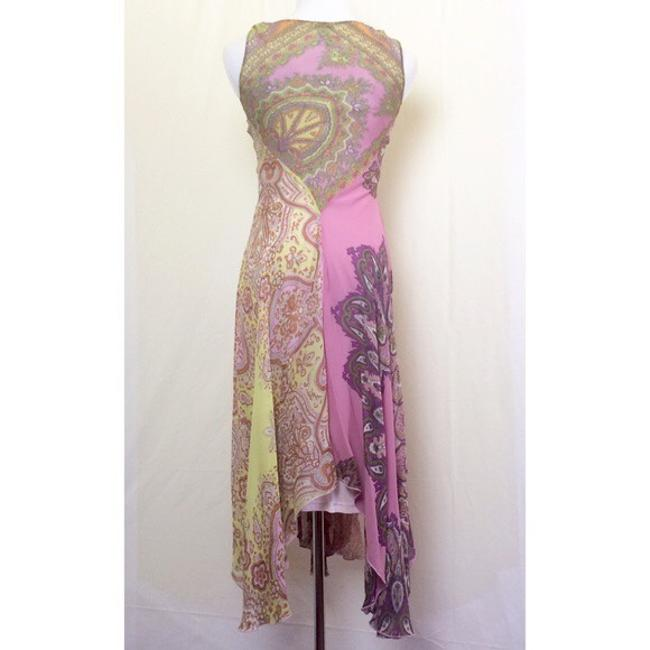 pinks/purples/yellows/greens/rust paisley print Maxi Dress by Anthropologie Image 1