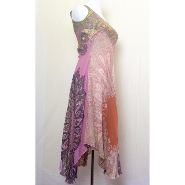 pinks/purples/yellows/greens/rust paisley print Maxi Dress by Anthropologie Image 2