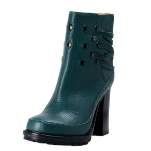 MM6 Maison Martin Margiela Forest Green Boots