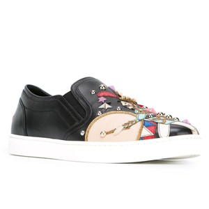 Dolce&Gabbana Toy Slip-on Leather Flats