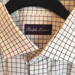 Ralph Lauren Ralph Lauren Purple Label Luxury Dress Shirt