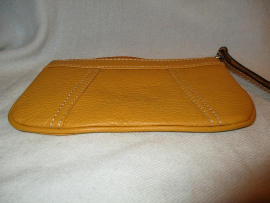 Other Leather Wristlet in yellow Image 2