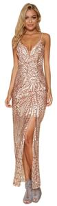 rose gold Maxi Dress by showpo Sexy Maxi Gold Formal