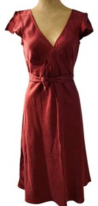 Ann Hobbs for Cattiva short dress Burgundy Bloomingdales Silk Purple on Tradesy