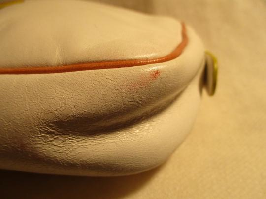 Cole Haan Leather white & tan Clutch Image 10