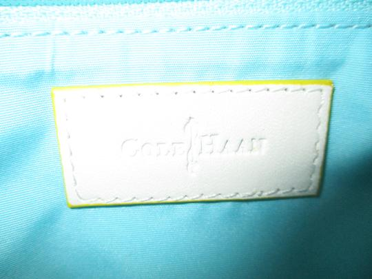 Cole Haan Leather white & tan Clutch Image 2