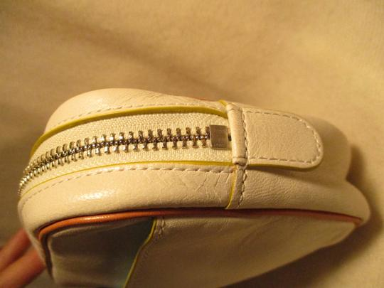 Cole Haan Leather white & tan Clutch Image 4