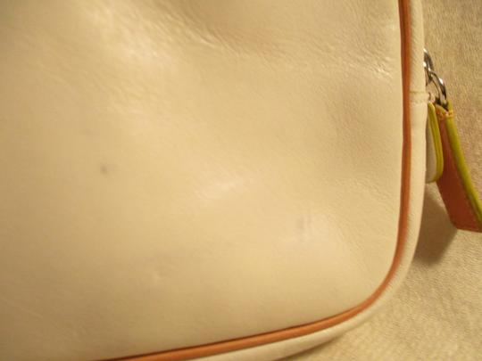 Cole Haan Leather white & tan Clutch Image 9