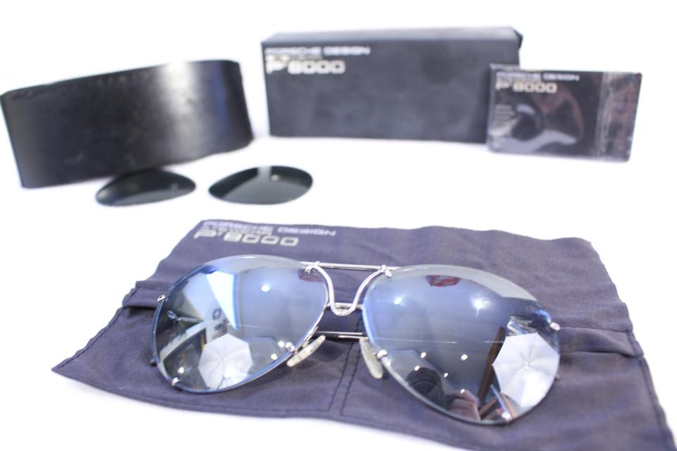 d2491c3e41ae PORSCHE DESIGN P8000 Aviator Sunglasses with Interchangeable Lenses Image  2. 123