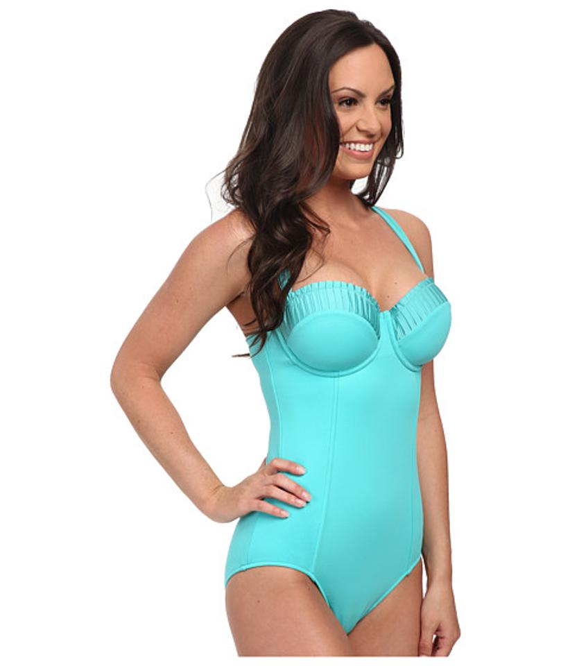 SeaFolly D Cup Maillot Swimsuit One-piece Bathing Suit Size 10 (M ...