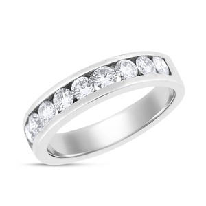 Other 1.20 Ct. Natural Diamond Men's Channel Set Wedding Band Solid 14k