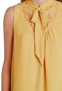 Anthropologie Top Yellow / Mustard