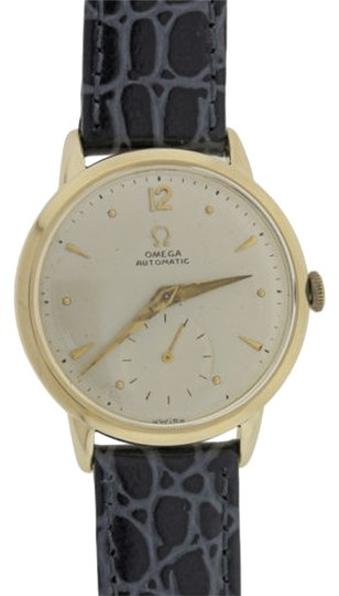 Preload https://item3.tradesy.com/images/omega-solid-14k-yellow-gold-cal-342-bumper-watch-2073677-0-0.jpg?width=440&height=440