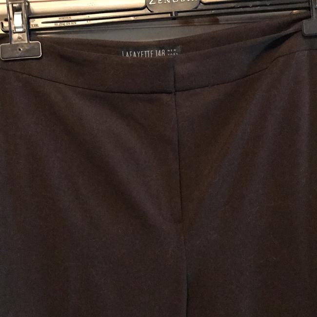 Lafayette 148 New York Straight Pants dark brown