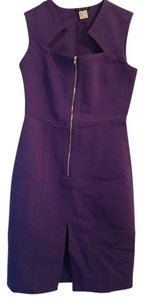VENUS short dress Purple on Tradesy