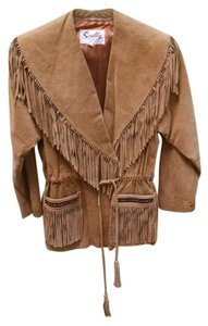 Scully Tan Leather Jacket
