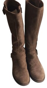 La Canadienne La Tall Tan Suede brown Boots