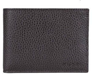 Gucci GUCCI 278596 Men's Leather Pebbled Bifold Wallet, Brown AUTHENTIC