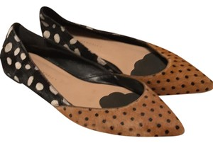 Loeffler Randall Black & Brown Flats