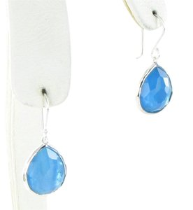 Ippolita Wonderland Teardrop Earrings Ice Blue Quartz MOP Doublet Sterling 925