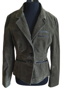 James Perse green and black Jacket