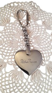 Paloma Picasso Paloma Piccaso Vintage Keychain Silver Plated