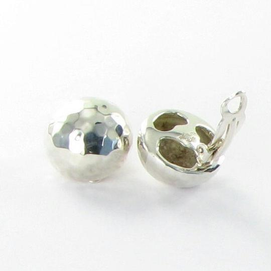 Ippolita Glamazon Button Clip On Earrings Sterling Silver Image 3