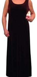 Jones New York Velvet Sleeveless Square Neckline Dress