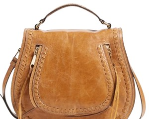 Rebecca Minkoff Leather Flap Closure Saddle Cross Body Bag