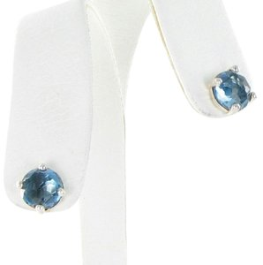Ippolita Rock Candy Wonderland Mini Stud Earrings London Blue Topaz Sterling