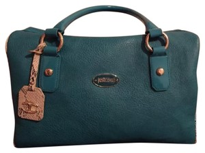 Just Cavalli Satchel in tral blue