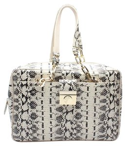 Versace Satchel in White