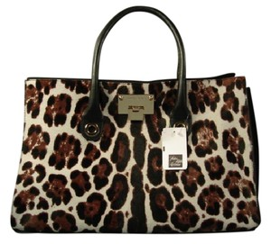 Jimmy Choo Tote in Leopard Print
